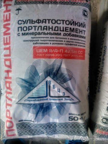 Сульфатостойкий цемент