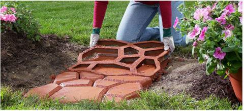 Своими руками изготовление плитки из бетона
