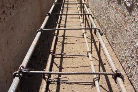 Связанное армирование (прутковая катанка и строительная проволока)