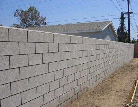 Тонкошовная кладка из газобетонных стеновых блоков
