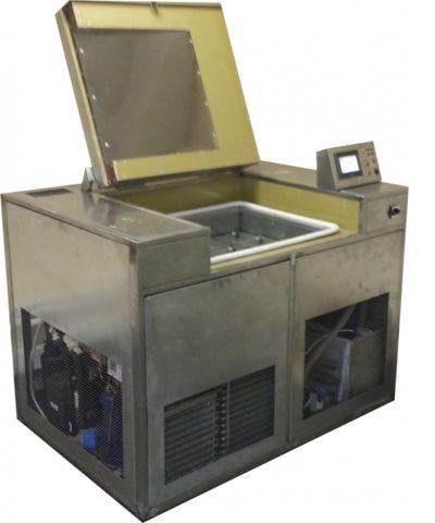 Установка для испытания пенобетона на морозостойкость