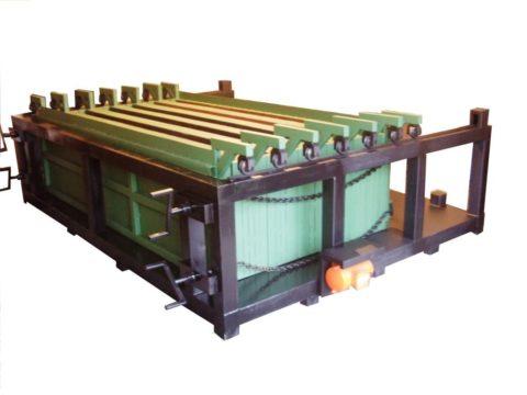 Установка для производства бетонных заборов