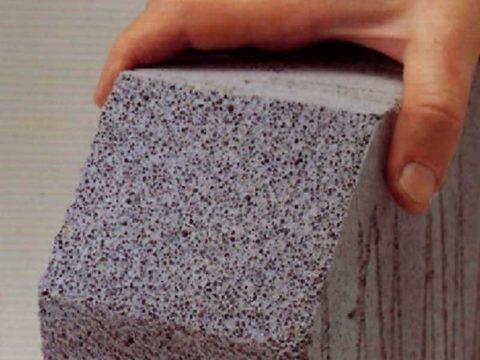 В легком бетоне нет камней
