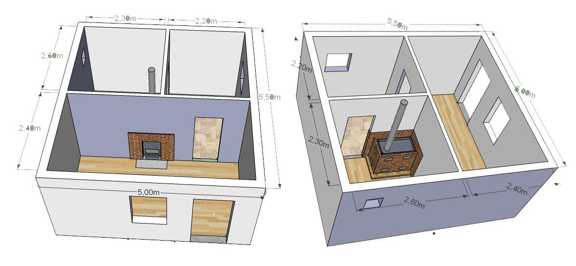 Проект домов из пеноблоков своими руками