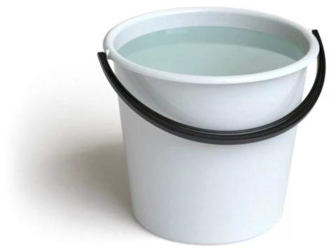 Вода для производства раствора