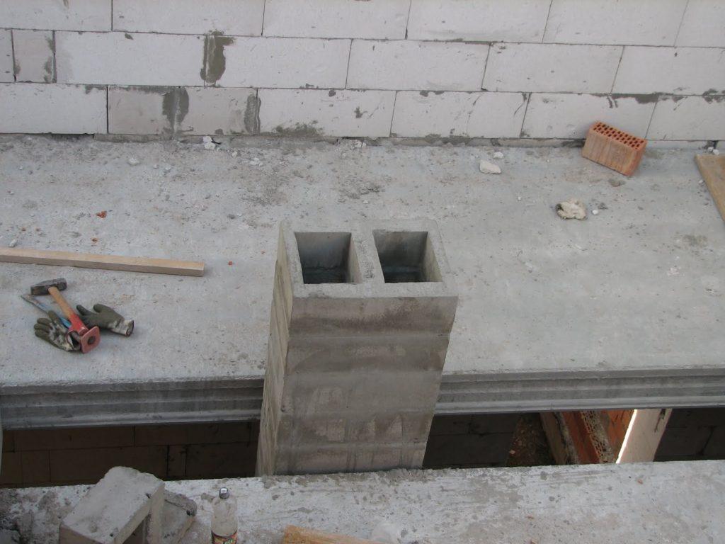 Сборный бетонный вентблок