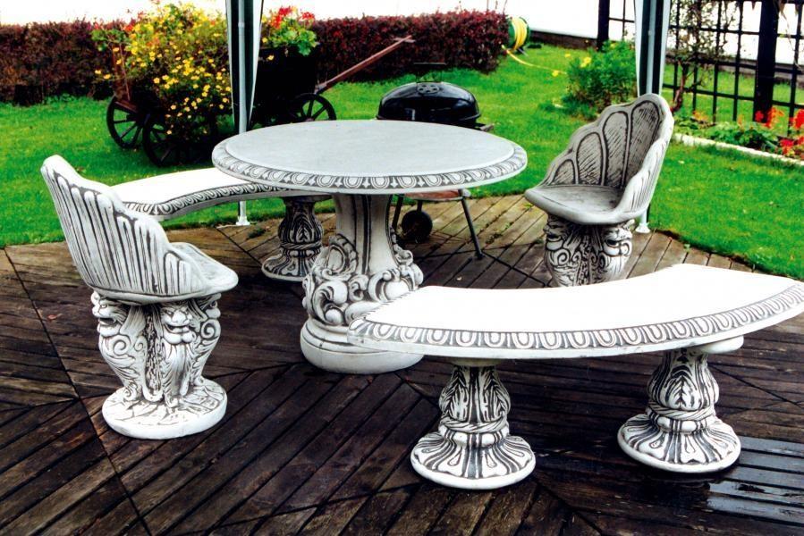 Декоративная мебель из бетона
