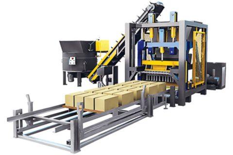 автоматизированное оборудование для производства шлакоблока