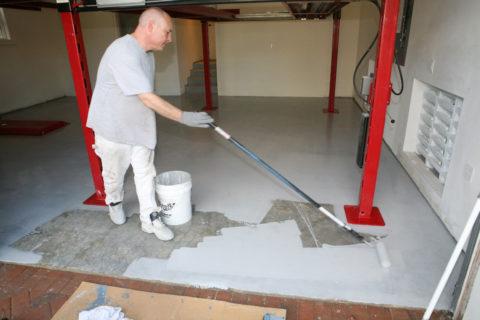 Бетонная поверхность требует дополнительной обработки
