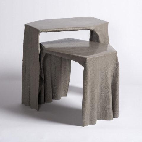 Бетонные садовые стулья