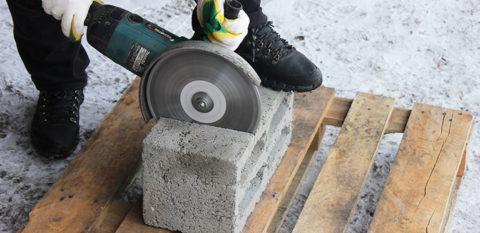 Блоки керамзитобетонные: минусы - нелёгкая резка изделий