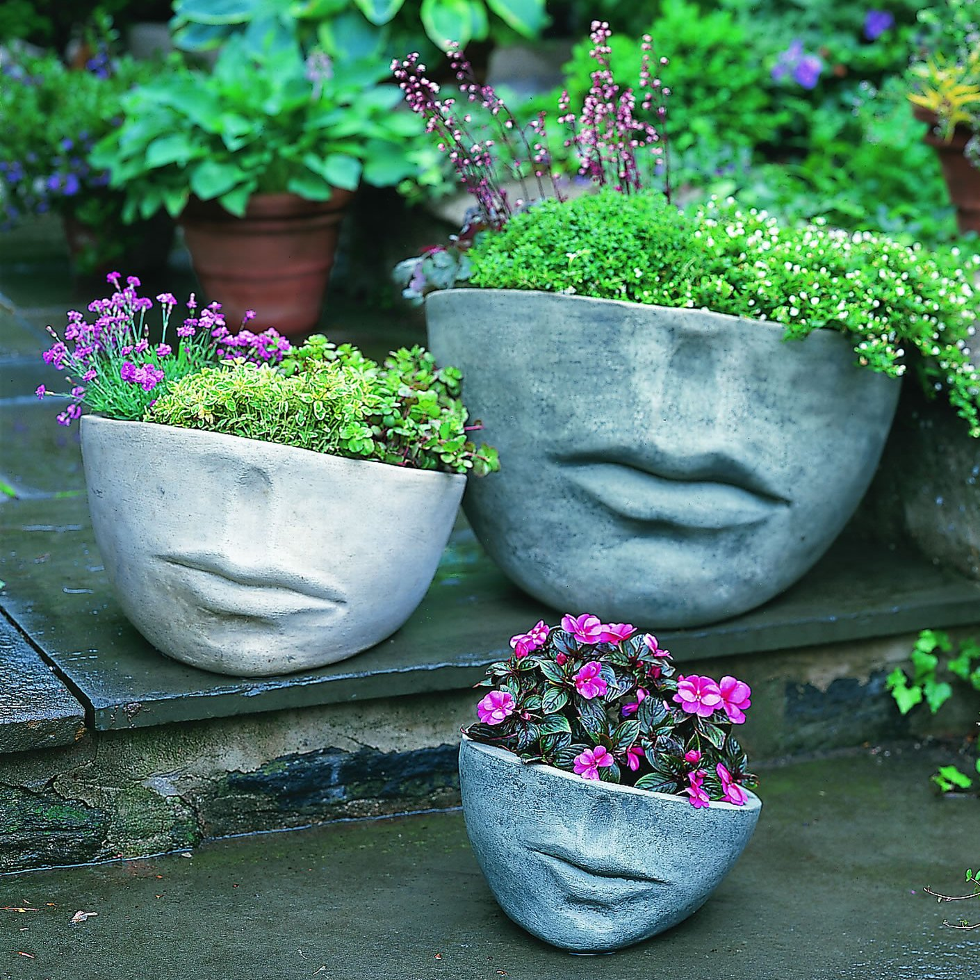 Вазы и вазоны для цветов для дачи своими руками