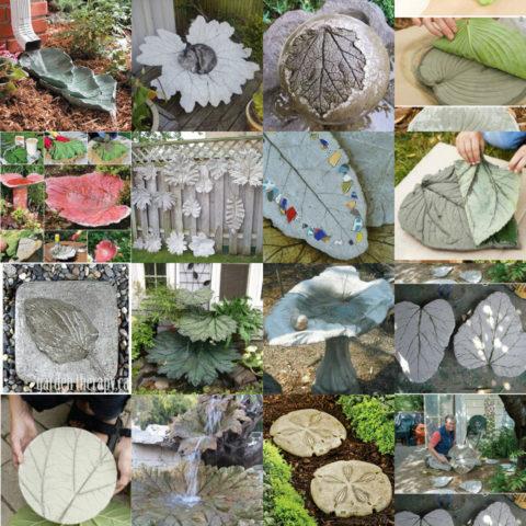 Декоративные изделия из бетона