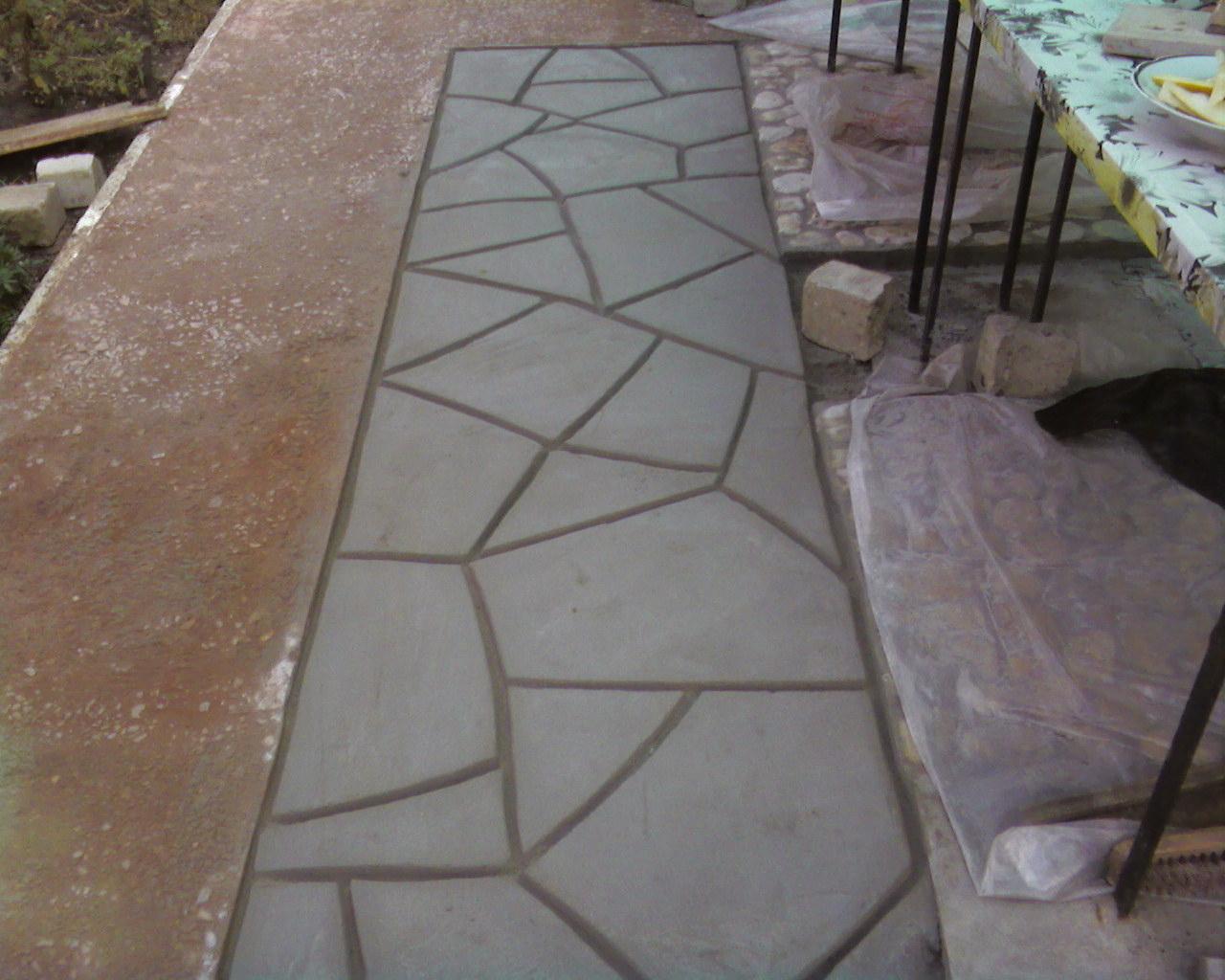 Форма для заливки бетона своими руками