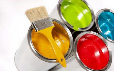 Доступная цветовая палитра зависит от вида краски и производителя