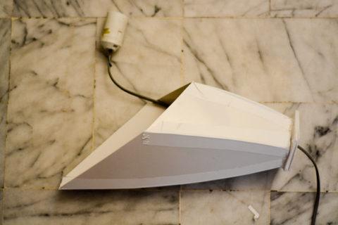 Форма для бетонного светильника из пластика
