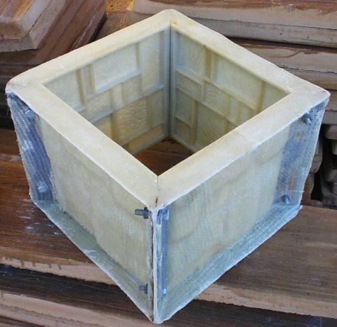 Форма для изготовления блоков с рисунком «Мозаика»