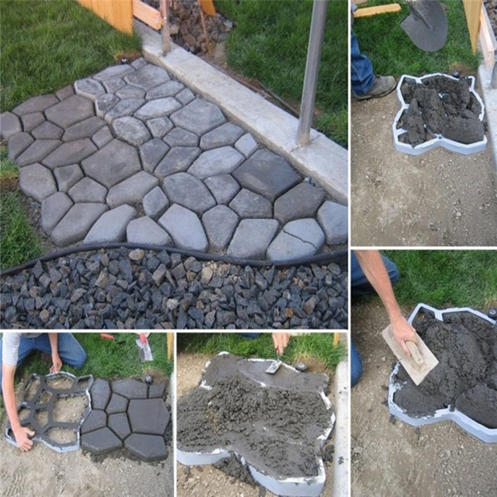 Как сделать камни из цемента для сада своими руками