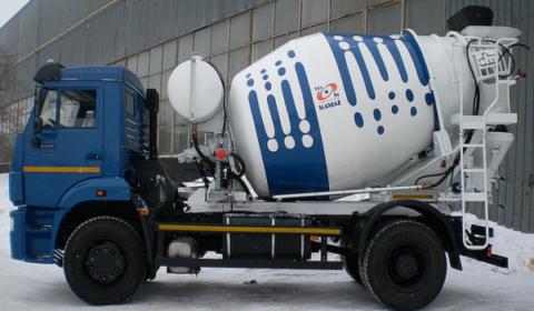 КамАЗ-581462 позволяет доставить бетон, соответствующий заданным параметрам