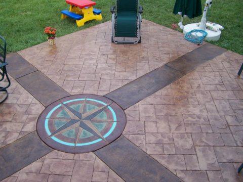 Красители кислотные для бетона можно применять для наружных и внутренних работ