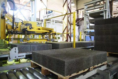 Линия по производству блоков