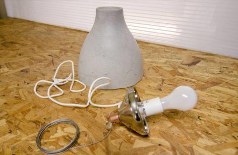 Монтажная конструкция светильника