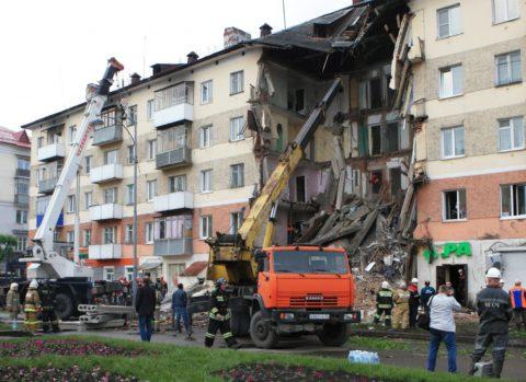 На фото – следствие пожара на нижнем этаже