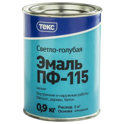 На таре всегда указана норма расхода краски по бетону для соответствующего состава