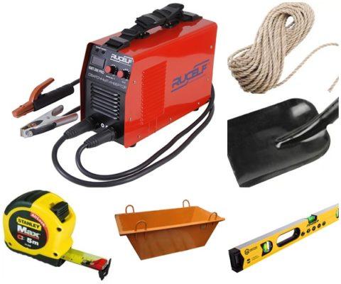 Необходимые инструменты для проведения работ