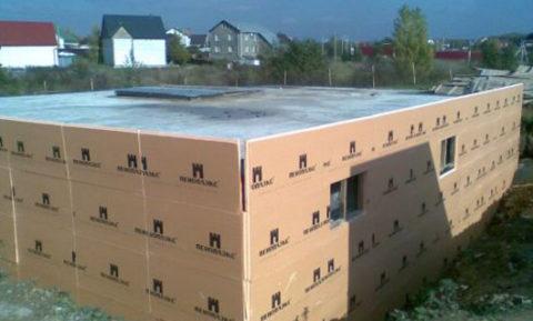 Пеноплекс – прекрасный материал для внешней теплоизоляции