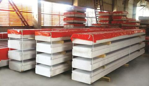 Плиты перекрытия и покрытия «Аэрок»