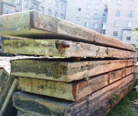 Плиты покрытия и перекрытия