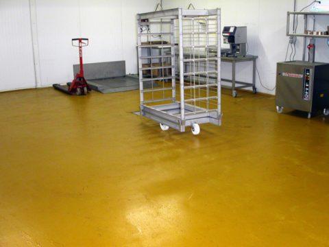 Покрытие складского помещения