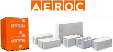 Продукция марки «Aeroc»
