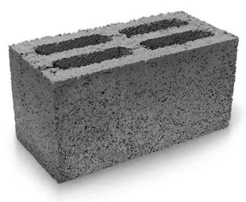 Пустотелый блок