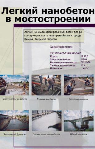 Работы по реконструкции моста в г. Кимры