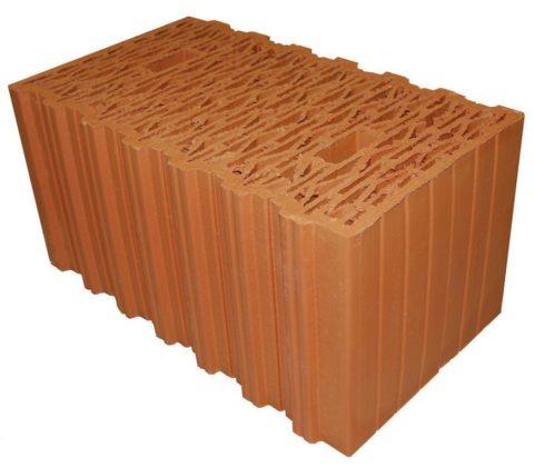 Рядовой керамический блок