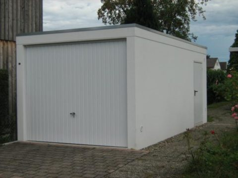 Сборный плитный гараж