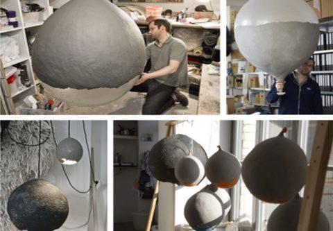 Светильники из шариков