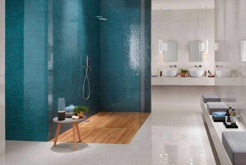 «Террацо» в ванной комнате