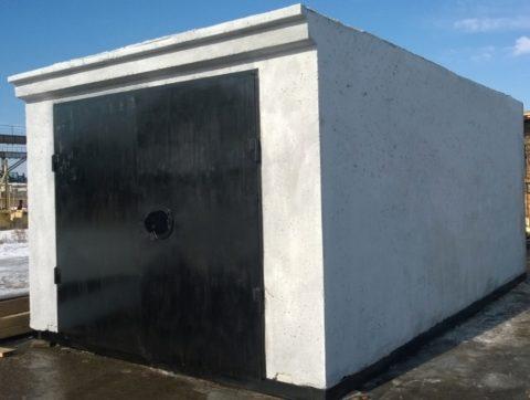 Цельный железобетонный гараж прекрасная альтернатива монолитному строительству