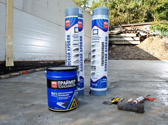 При комплексной обработке крыши лучше отдавать предпочтение материалам одного производителя