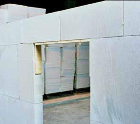 Внутренние стены из перегородочных материалов «AEROCElement»