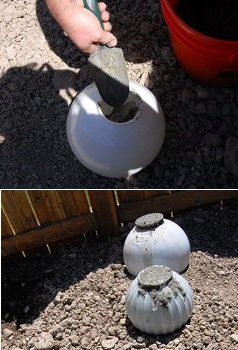 Забивка бетона