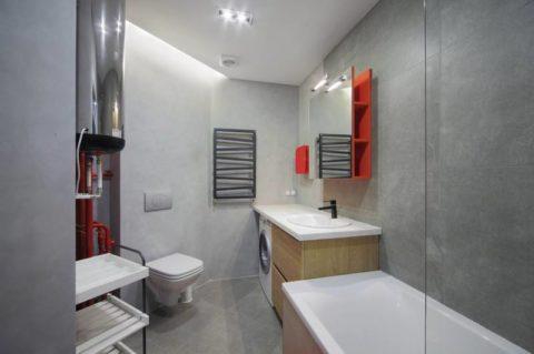Бетонная ванная