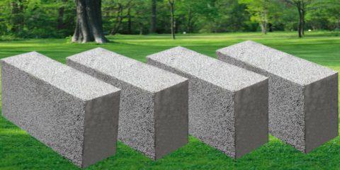 Блоки из полистиролбетона мелкие