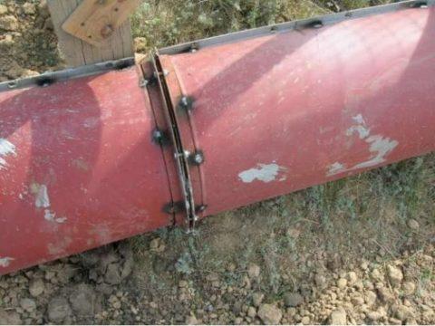 Чтобы отремонтировать лоток – желоб для бетона, надо его разобрать