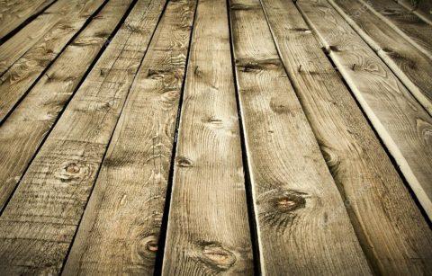 Деревянный пол - очень живая и подвижная конструкция перекрытия