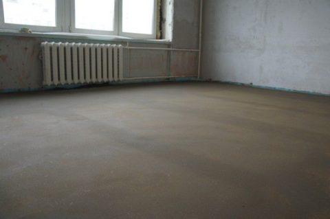 Готовая бетонная заливка
