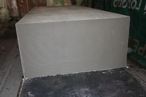 Готовый неавтоклавный блок